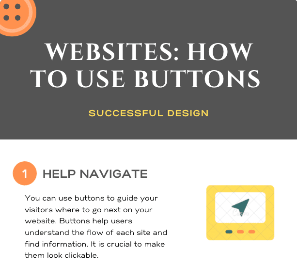 Infographics – How to Use Buttons