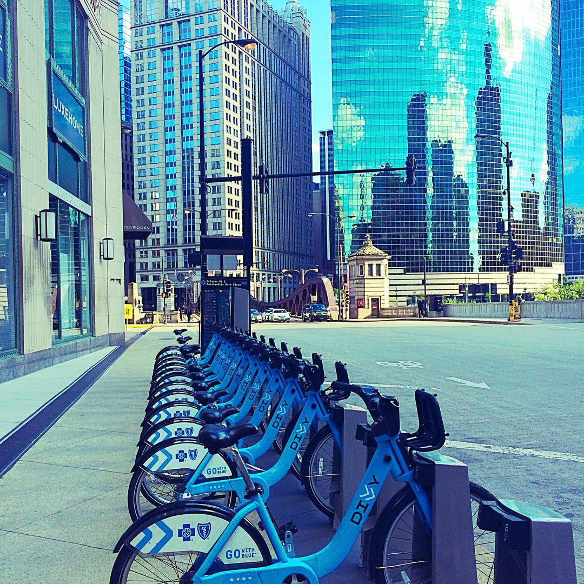 City bicycles for rental