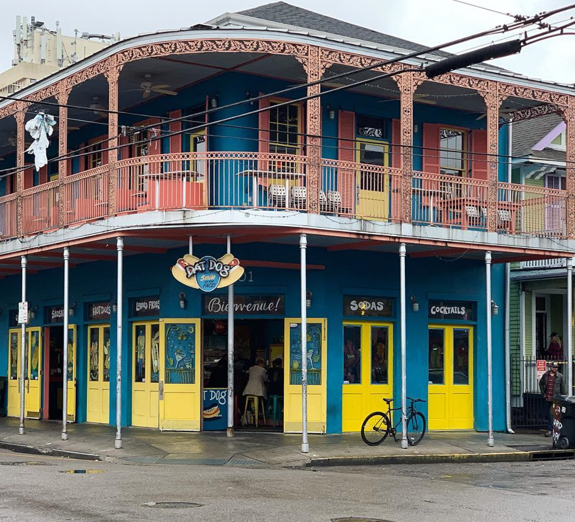 New Orleans building