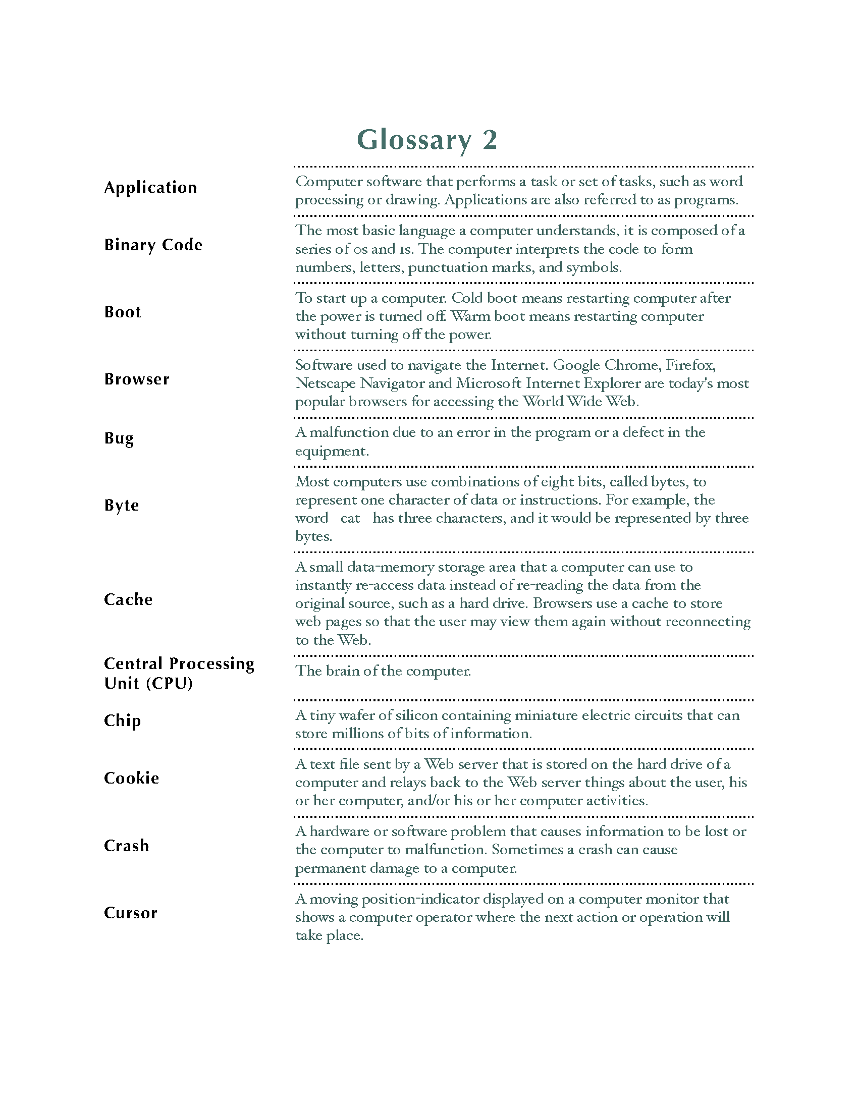 Glossary Template Page 02