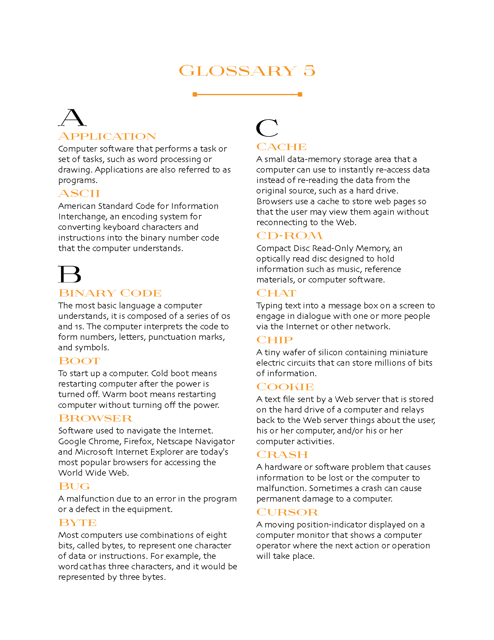 Glossary Template Page 05